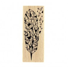 Éclat de plume -  Wood Mounted Florilèges Design Stamp