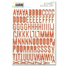 A Contre Courant Sticker Alphabet - Ateliers de Karine