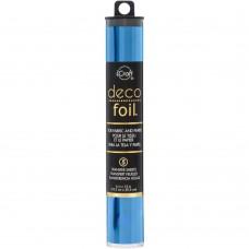 """Deco Foil Transfer Sheets 6""""X12"""" 5/Pkg - Deep Blue"""