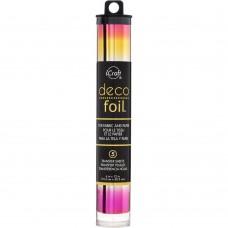 "Deco Foil Specialty Transfer Sheets 6""X12"" 5/Pkg - Summer Rainbow"