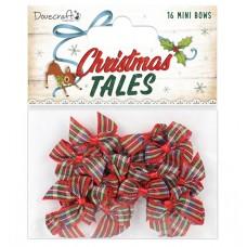 Dovecraft Christmas Tales Tartan Mini Bows