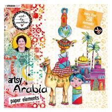 Art By Marlene Die Cut Block Artsy Arabia nr.01