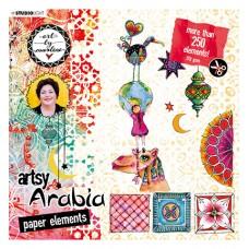 Art By Marlene Die Cut Block Artsy Arabia nr.02