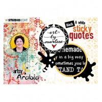 Art By Marlene Sticker Pad Quotes Artsy Arabia nr.03