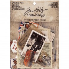 Idea-Ology Ephemera Pack Snippets by Tim Holtz