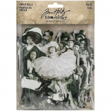 Paper Dolls - Tim Holtz : New selection 'solos'