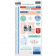 A Contre Courant Stickers 15 x 30 cm - Ateliers de Karine