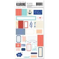 A Contre courant Stickers - Ateliers de Karine