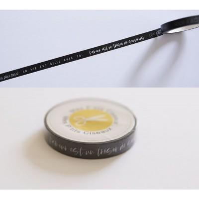 Masking Tape Tendres souvenirs - Mes Ptits Ciseaux