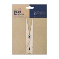 Papermania Bare Basics Giant Wooden Peg 15cm high