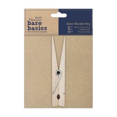 Papermania Bare Basics Giant Wooden Peg 15cm high