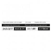 StudioLight Washi tape Text - Artist's Atelier nr. 03