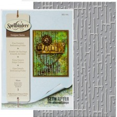 Maze Embossing folder by Seth Apter at Spellbinders