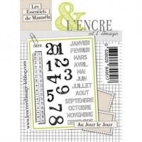 Au Jour de Jour clear stamps by L'Encre et L'Image