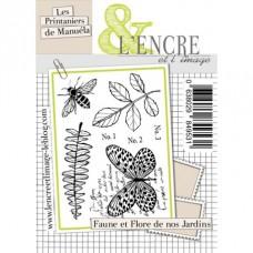 Faune et Flore de nos jardins clear stamps by L'Encre et L'Image