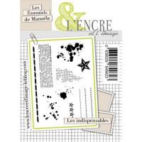 Les indispensables clear stamps by L'Encre et L'Image