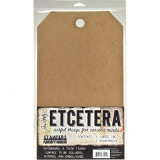 Etcetera Tag Large by Tim Holtz