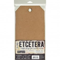 Etcetera 2 Tags Medium by Tim Holtz