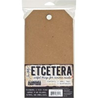 Etcetera 3 Tags Small by Tim Holtz