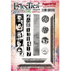 PaperArtsy stamps mounted on EZ foam - Everything Art EEA06