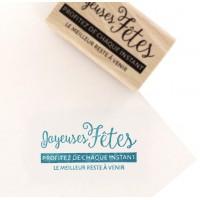 Le meilleur à venir - Tampon bois par Florilèges Design