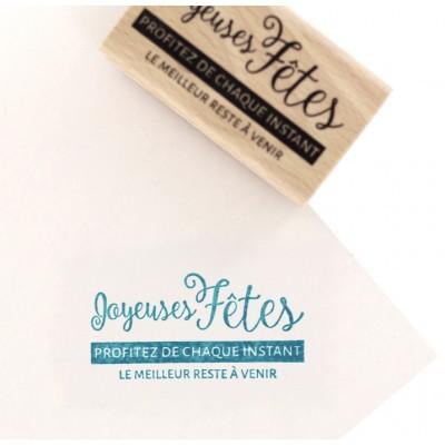 Le meilleur à venir - Wood Mounted Florilèges Design Stamp