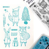 Come on Baby - Stamps by Florilèges Design.