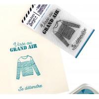Virée au grand air - Clear stamps by Florilèges Design.