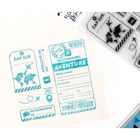 Cap sur l'aventure - Clear stamps by Florilèges Design