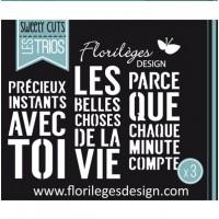 Florilèges Dies - Les Trios 'Belles choses'