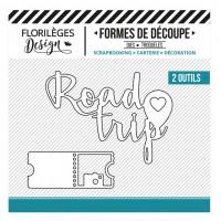 Florilèges Design Dies : Road Trip