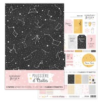 Florilèges Design A4 kit - Poussière d'étoiles