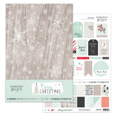 Florilèges Design A4 kit - Cosy Christmas