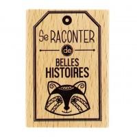 Belles Histoires -  Wood Mounted Florilège Stamp