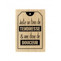 Juste un brin -  Wood Mounted Florilège Stamp