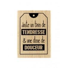 Juste un brin - Tampon bois Florilèges Design