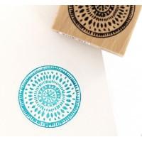 Esprit Batik  - Tampon bois Florilèges Design