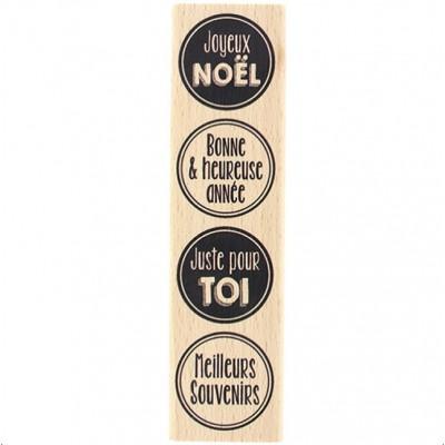 Pastilles de Fête - Wood Mounted Florilèges Design Stamp