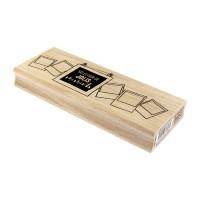 Sélection de Moments - Tampon bois de Florilèges Design