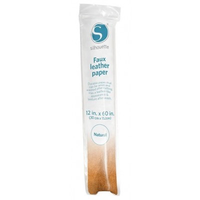 Silhouette Paper Faux Leather Natural