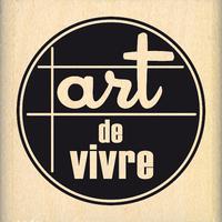 ART DE VIVRE-  Wood Mounted Florilège Stamp
