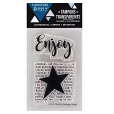 Enjoy - Clear stamps by Florilèges Design