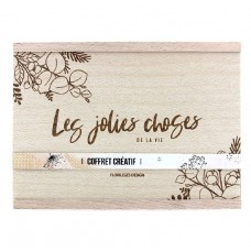 Creative box set LES JOLIES CHOSES DE LA VIE by Florilèges Design