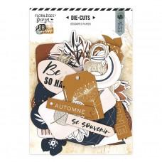 Or Saison die cuts by Florilèges Design
