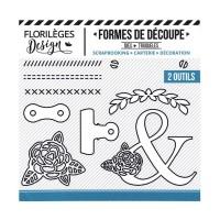 Florilèges Design Dies - Pinces et Vis