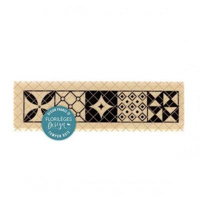 Carreaux de ciment - Wood Mounted Stamp by Florilèges Design