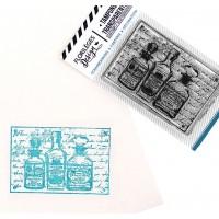 Trio de flacons - Stamp by Florilèges Design