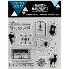 Noël magique - Clear stamps by Florilèges Design