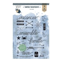 Florilèges Design clear stamps - En bord de mer