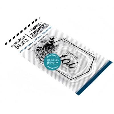 Étiquette pour toi - Clear stamp by Florilèges Design